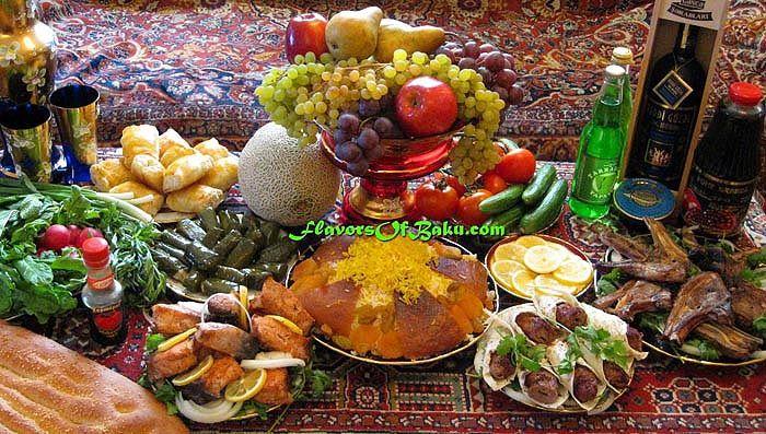 Азербайджанская кухня и ее особенности