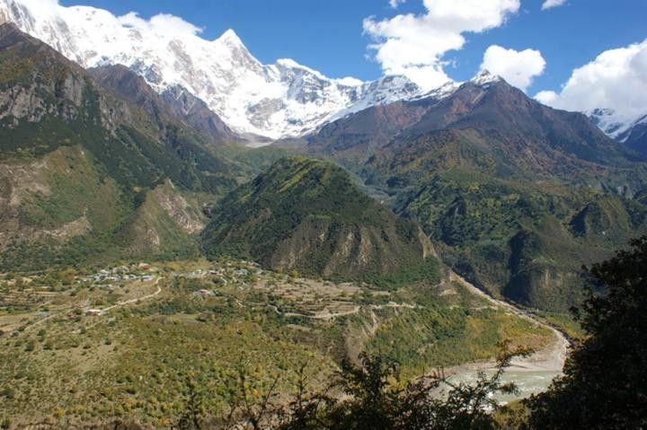 Цангпо в Тибете