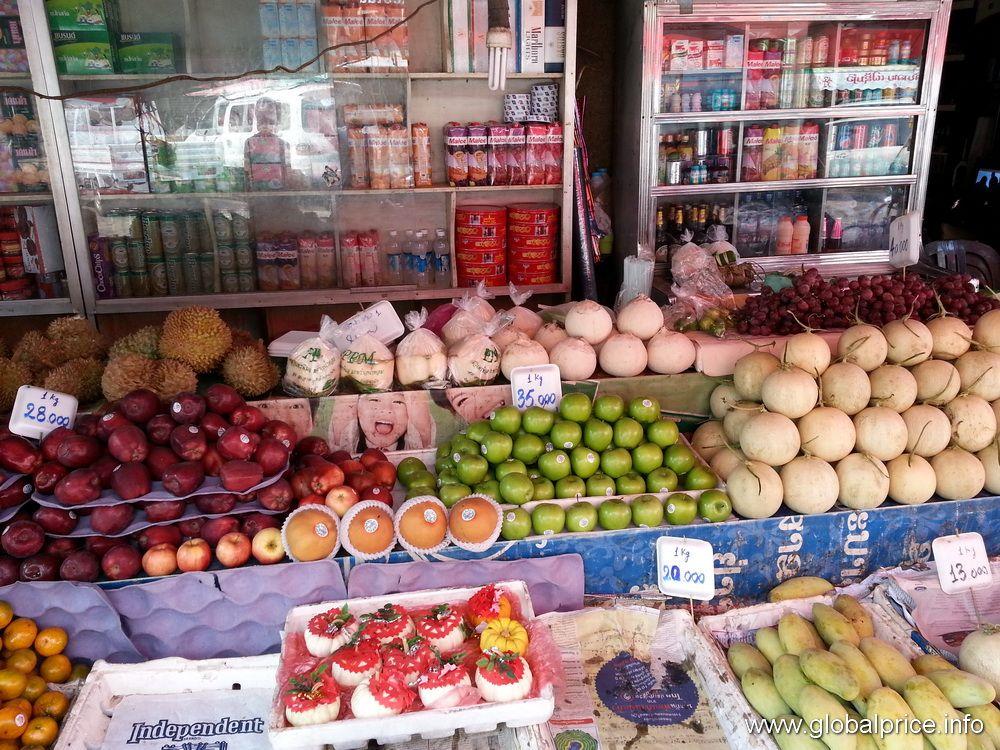 Фрукты в Лаосе