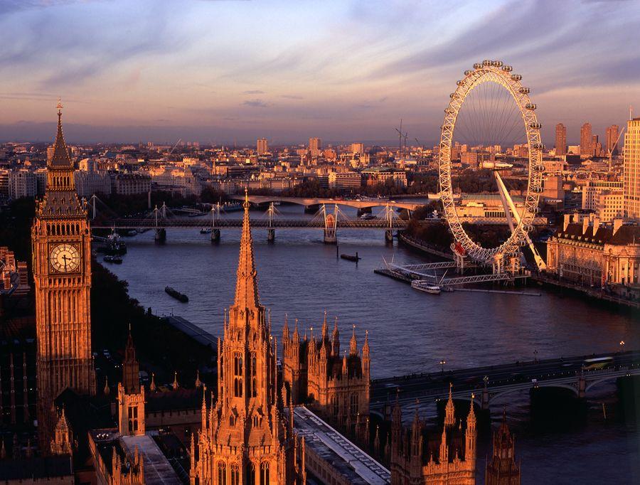 Лондон - один из красивейших городов