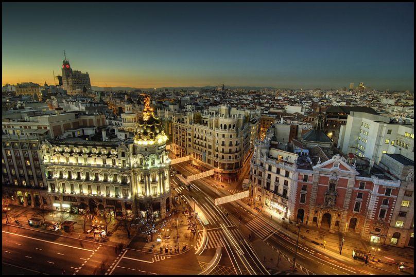 Завершает десятку красивых городов в мире Мадрид