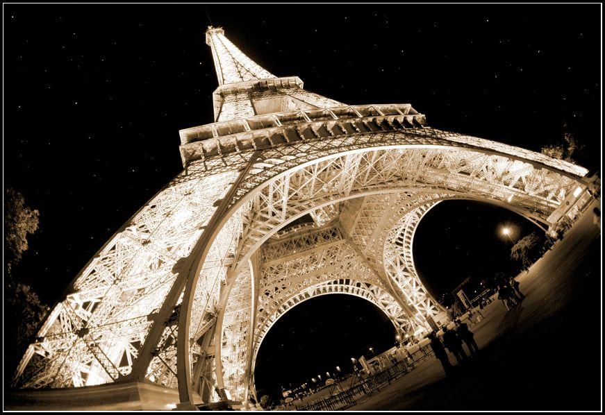 Париж, город любви и романтики