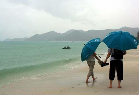 Таиланд дождь