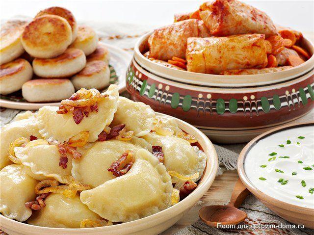 Особенности приготовки украинских блюд