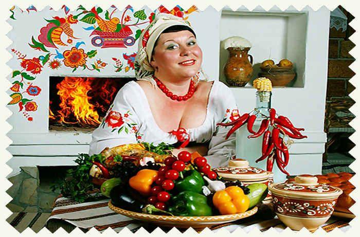 Украинская кухня - основные продукты и блюда