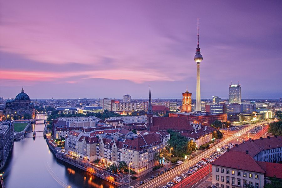 Берлин - восьмой в списке