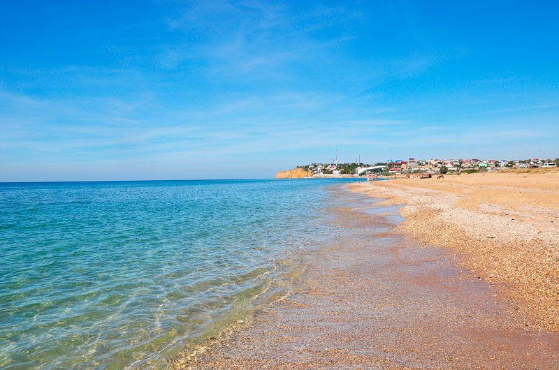 Пляжу в орловке, что в севастополе