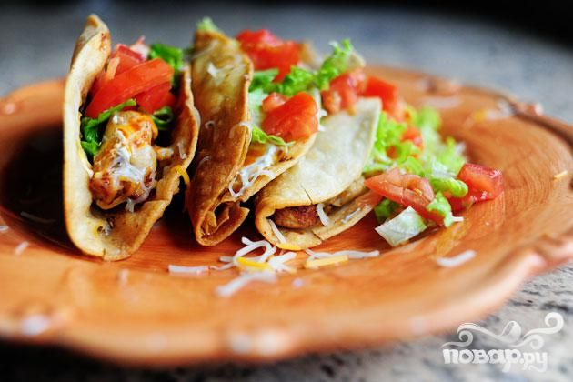 Лепешка «Кортес» с овощами и сыром - рецепт пошаговый с фото