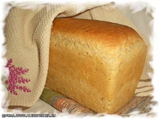 Белый хлеб из пшеничной