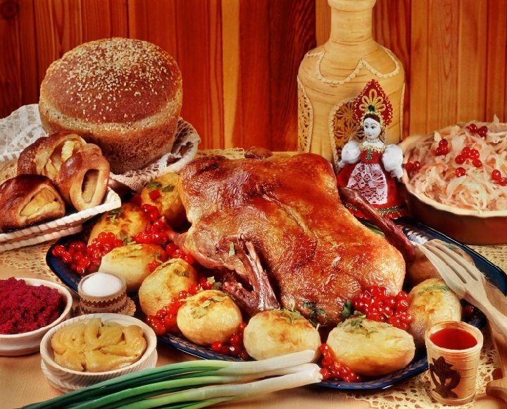 Топ блюд русской кухни