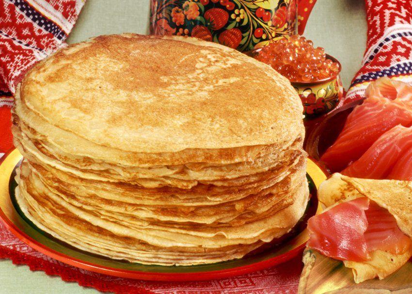 Популярные блюда в россии