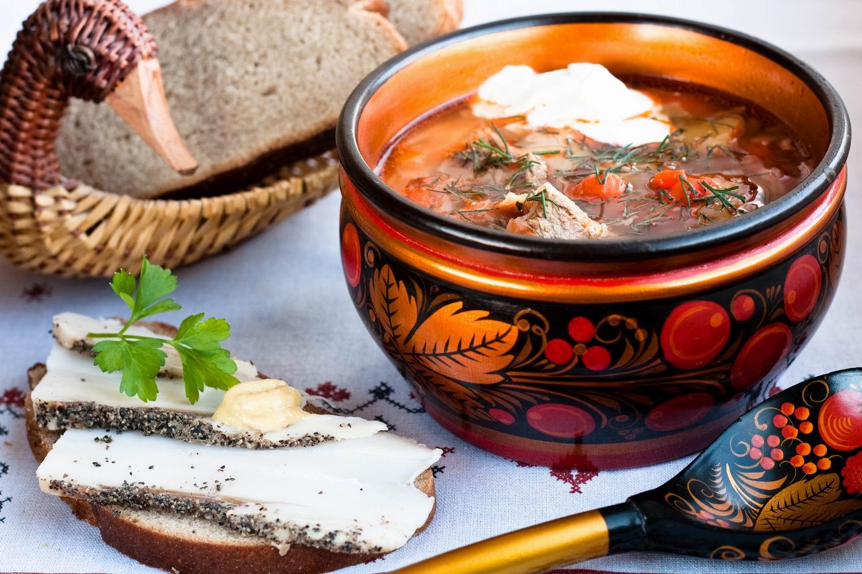 блюда русской кухни 12 века окрошки уха рецепты