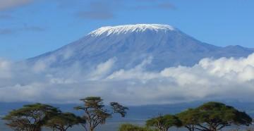 Килиманджаро — самая высокая гора в Африке