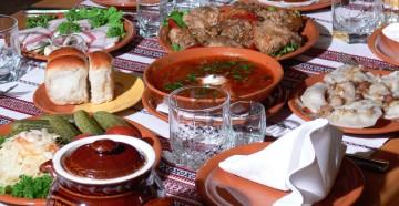 Национальная украинская кухня: сытная и низкокалорийная