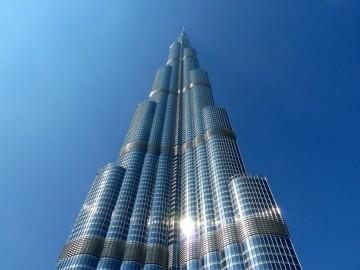 Башня Халифа — самое высокое здание в мире в Дубае