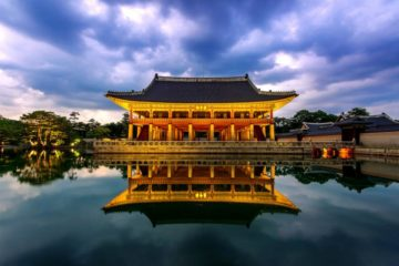 Дворец Кёнбоккун в Южной Корее