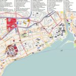 Туристическая карта Санто-Доминго