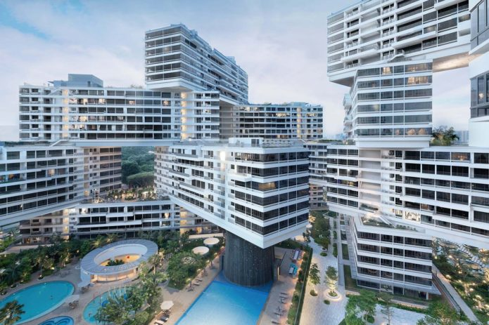 Здание The Interlace
