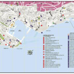 Туристическая карта Монако