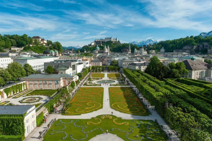 Дворец и сады Мирабель