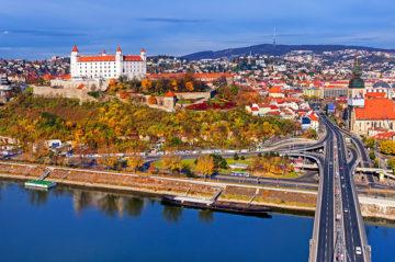 Столица Словакии - славный город Братислава