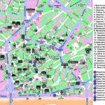 Подробная карта достопримечательностей Братиславы