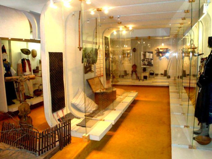 Экспонаты в музее Липтова в Ружомбероке