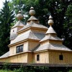 Трёхъярусное здание церкви в Бодружале