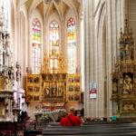 Интерьер собора святой Елизаветы