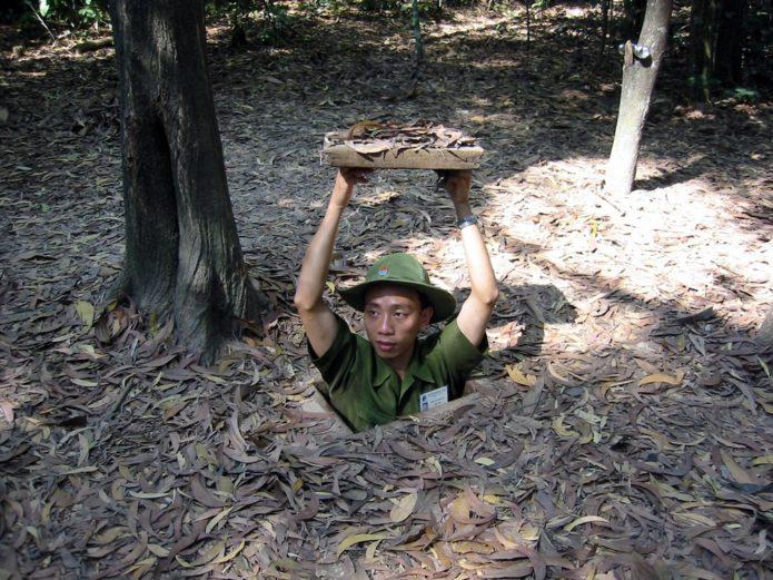Вьетнамский солдат