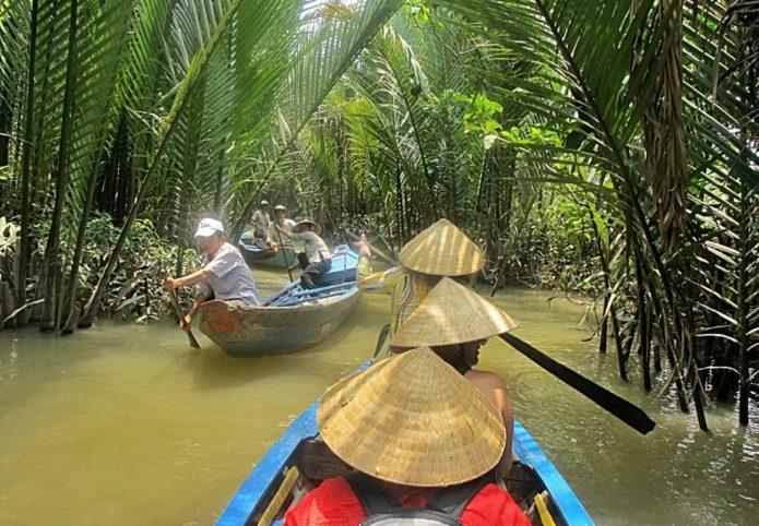 Проток в Дельте Меконга