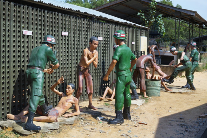 Экспозиция музея Кокосовой тюрьмы