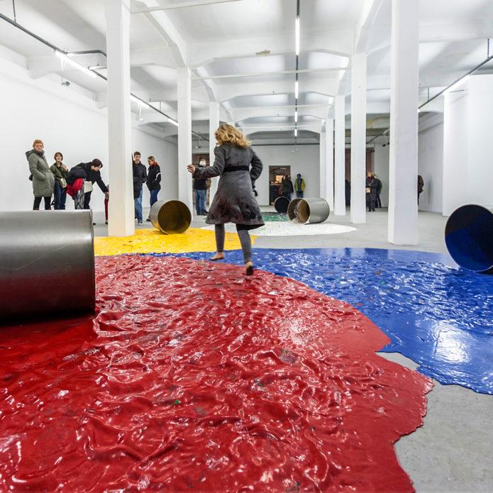 Инсталляция в Музее современного искусства в Истрии