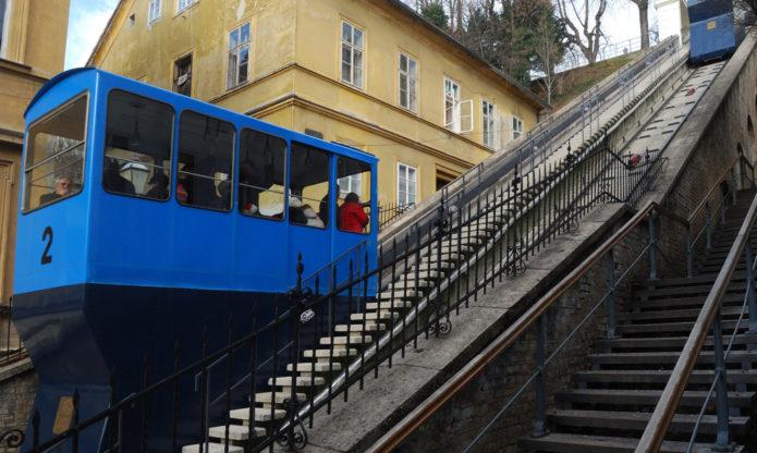 Фуникулёр в Загребе